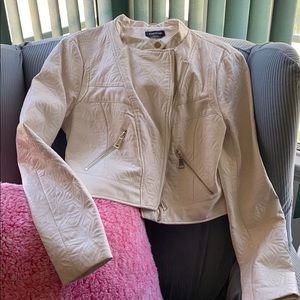Cream Moto Jacket!!!